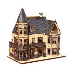 Na Design Tree Model Kit for Kids Adult - Laurel Town Home Black