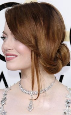 Prom 2017 Hairstyles - Emma Stone