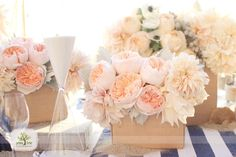 favorite.  love these for a couple centerpieces on the table! less pink, more peach though