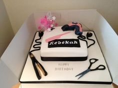 1000+ ideas about Hairdresser Cake on Pinterest | Cakes ...
