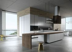 Minimal and beautiful Look by Marcon 70 Years of Snaidero: A Global Icon of Italian Kitchen Design