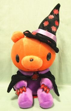 31 cm GLOOMY BEAR Plush Halloween Witch Ver. Chax TAITO JAPAN