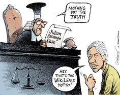 Mr. Fish's Cartoon Nothing but the truth