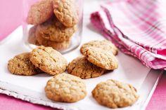 Chewy Anzac biscuits http://www.taste.com.au/recipes/27040/chewy+anzac+biscuits #recipes #anzac #biscuits