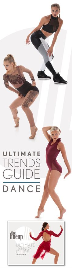 Ultimate Trends Guide for Jazz, Hip Hop, Lyrical dance and more! Looks you'll love for your dance team costume!