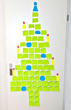 Fun Post It Tree Write Done Things To Be Thankful For Favorite Memories