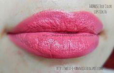 mela-e-cannella: FARMASI True Color Lipstick 06 - Rose