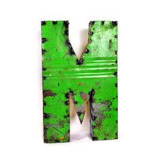 Drum Metal Letter M, $64, now featured on Fab.