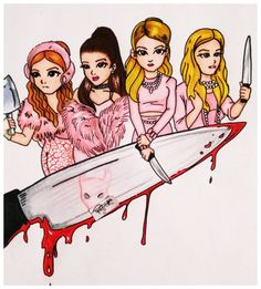 scream queens drawing - Google Search