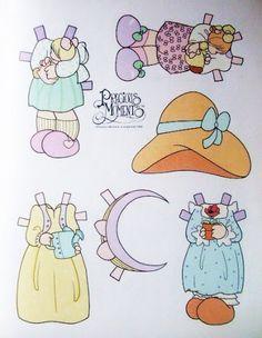 Paper Dolls~Precious Moments - INMACULADA R. L - Álbumes web de Picasa