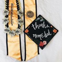 Now that the fact that I'm graduating from UC Berkeley in just 2 days is finally hitting me, I just wanted to thank my mom for accompanying me throughout my journey through undergrad. Not only did she design, paint, and craft both my cap & Hawaiian lei, she has also helped me overcome the darkest times in college. Thank you so much for letting me study abroad in London and have the most liberating summer of my life, travel the world, pursue my own academic goals, blast Tame Impala in our car…