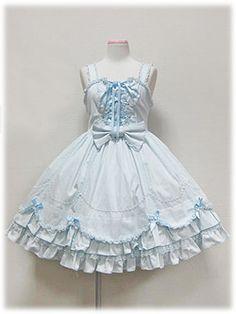 Angelic Pretty / Jumper Skirt / Classical Scalloped Doll JSK