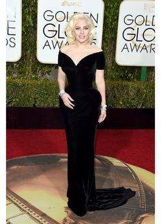 la 73ème cérémonie des Golden Globes Awards, Lady Gaga 2016