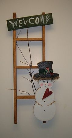 wood snowmen on pinterest | ... Wood Furniture & Furnishing Home Decor-Wood Furniture-Wooden
