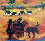 claerhout South African Artists, Donkey, Sculptures, Painting, Donkeys, Painting Art, Paintings, Painted Canvas, Drawings