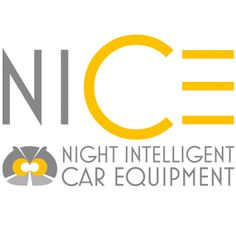 logo design for NICE (Night Intelligent Car Equipment)