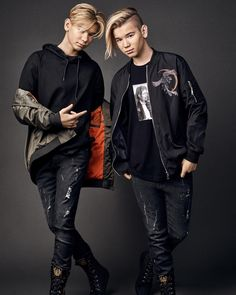 New M&M poster. Buy Marcus and Martinus posters here. MMstore official brand store for Marcus & Martinus. Cute 13 Year Old Boys, Cute Boys, Stranger Things Premiere, Mike Singer, Dream Boyfriend, Twin Boys, Perfect Boy, Fashion Night, Laptop Sleeves
