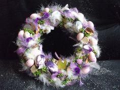 Zdjęcie w albumie wieniec - Zdjęcia Google Easter Wreaths, Floral Wreath, Diy, Wedding, Easter Ideas, Spring, Google, Wreaths, Picasa