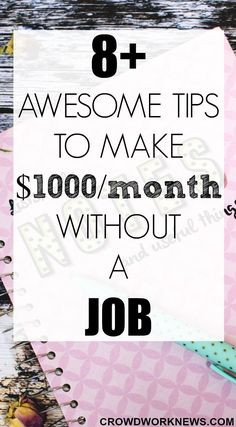 Are you looking for easy and simple ways to earn around $1000/month without doing a job? You have come to the right place!! Click through to find out how you can earn around $1000/month from home.