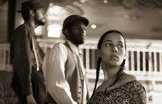 Carolina Chocolate Drops...unsure if this is an album cover or what- I love the composition