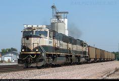 RailPictures.Net Photo: BNSF 9645 BNSF Railway EMD SD70MAC at Aurora, Nebraska by Allen Robertson