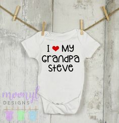 Unisex Baby Look Just Like My Grandpa T-Shirt Romper So Relative
