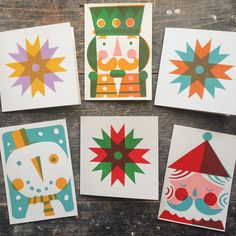 Now available from the shop are all the designs for this years Christmas card collection. Christmas Design, Christmas Art, Christmas Decorations, Chrismas Cards, Xmas Cards, Stencil Printing, Screen Printing, Christmas Illustration, Linocut Prints