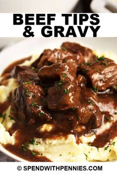 Ground Beef Stroganoff, Beef Tip Recipes, Cooking Recipes, Game Recipes, Recipe For Beef Tips, Goulash Recipes, Easy Meat Recipes, Recipies, Beef Dishes