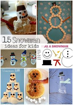 15 Snowman Ideas for