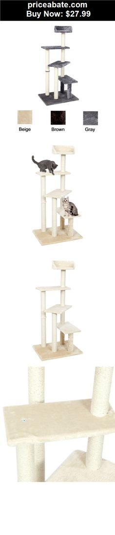 """Animals-Cats: New 50"""" Cat Tree Furniture House Post Condo Pet Play Scratcher Toy Kitten Tower - BUY IT NOW ONLY $27.99"""