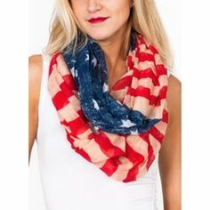 Red white and blue.