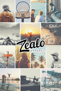 Zealo Apparel Aesthetic.  Beyond Boundaries. Outdoors adventure, music, people, sports, style, friendship, expression, nature, beauty, activism, love, life. | https://zealo-apparel.myshopify.com/