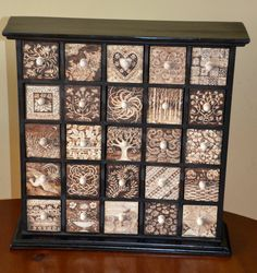 25 drawer chest of drawers decorated with by tricianewell on Etsy