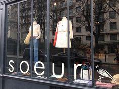 Vitrine Soeur Rue Bonaparte Paris, Two Sisters, Boutiques, Things To Sell, Glass Display Case, Boutique Stores, Clothing Boutiques, Boutique