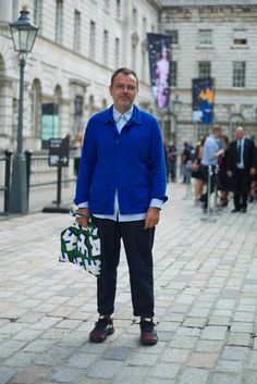 Street Style at London Fashion Week SS15. Photographs by Marcus Dawes for LFW The Daily, (www.marcusdawes.com)