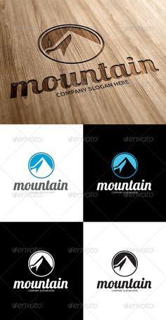GraphicRiver Mountain Logo 3256819