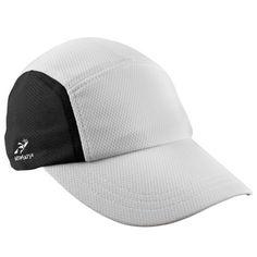 Headsweats Race Performance Running/Outdoor Sports Hat: http://www.amazon.com/Headsweats-Performance-Running-Outdoor-Sports/dp/B002YGSPRS/?tag=monmak04-20