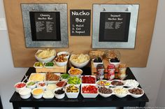 Nacho Bar Activity & Party Planning Inspiration for All Ages!A game day party just wouldn't be the same without nachos! How do you take your nachos? Nacho Cheese Sauce, Cheese Bar, Dessert Nachos, Dessert Bars, Nacho Bar Party, Taco Bar, Tortillas, New York Cheesecake Rezept, Cinco De Mayo