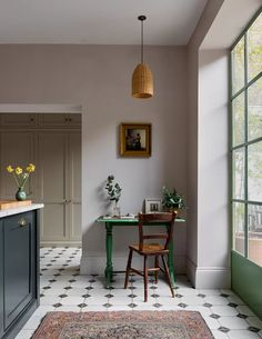Victorian Townhouse, London Townhouse, London House, Victorian Homes, Devol Kitchens, Townhouse Designs, Little Greene, Dining Nook, Interiores Design