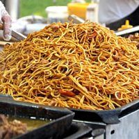 Japchae, Spaghetti, Food And Drink, Meals, Ethnic Recipes, Asia, Meal, Yemek, Noodle