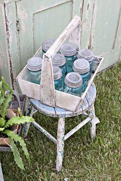 Farm Fresh Jars from   asortoffairytale.com