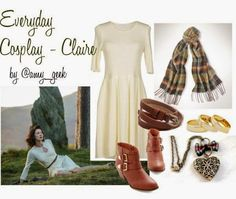 geek with curves: Everyday Cosplay - Claire from Outlander