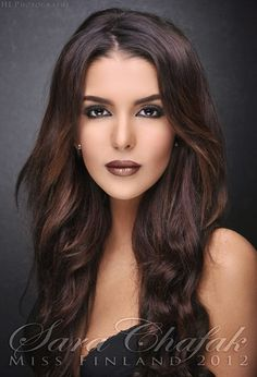 Miss Finland 2012 Sara Chafalk