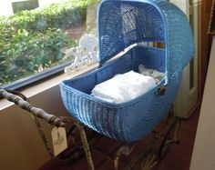 victorian baby carriage | Baby Carriage, stroller, buggy, wic ker, antique, vintage, Victorian ...