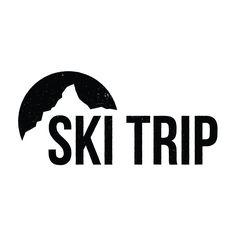 ski trip logo - Google Search