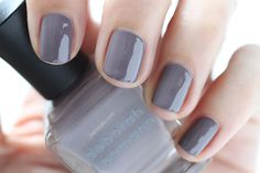 Deborah Lippmann Painted Desert Summer 2015 Swatch Love In The Dunes Purple Cream Nail Polish