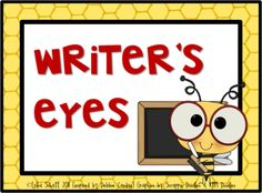 Bee+Themed+Writer's+Eyes+from+The+Honey+Bunch+on+TeachersNotebook.com+-++(10+pages)+