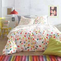 1000 images about couette on pinterest tao toile de for Housse de couette multicolore
