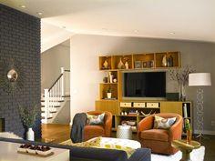 Contemporary | Living Rooms | S Interiors : Designer Portfolio : HGTV - Home & Garden Television