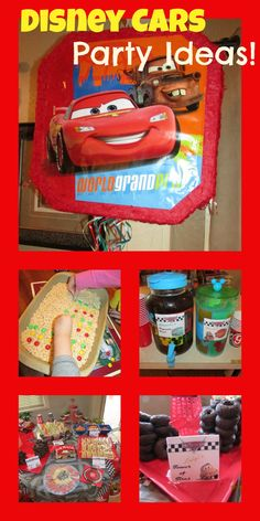 Disney Cars Party Ideas and Printables